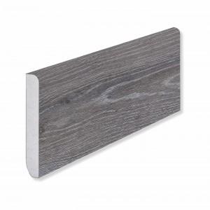 Плинтус Fargo (80 х 11 х 2200 мм) 379-1 Дуб Серый Иней