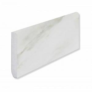 Плинтус Fargo Stone (80 х 11 х 2200 мм) 6089-1 Белый Мрамор