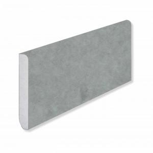 Плинтус Fargo Stone (80 х 11 х 2200 мм) JC 11013 Горный Хрусталь
